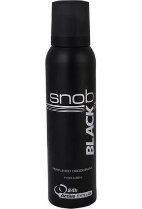 Snob Black 150 Ml Erkek Deodorant