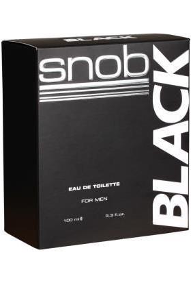 Snob Black Formen Edt 100 Ml