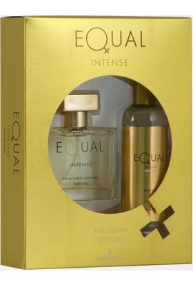 Equal Intense Edt 75 Ml Kadın Parfümü + 150 Ml Deodorant Set