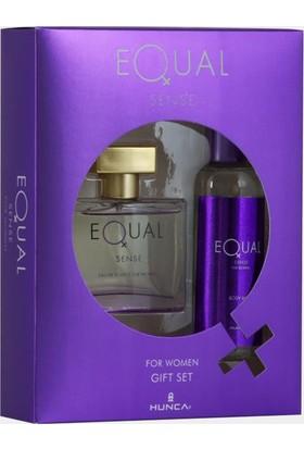 Equal Sense Edt 75 Ml Kadın Parfümü + 150 Ml Deodorant Set