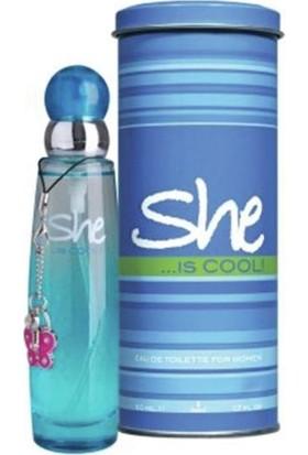 She Is Cool Edt 50 Ml Kadın Parfümü