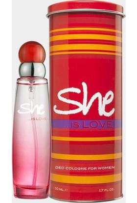 She Love Edt 50 Ml Kadın Parfümü