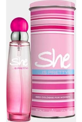 She Pretty Edt 50 Ml Kadın Parfümü