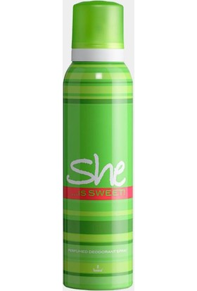She Is Sweet 150 Ml Kadın Deodorant