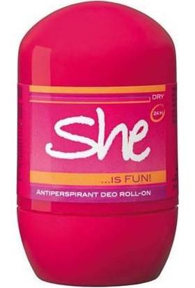 She Roll-On İs Fun