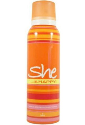 She Is Happy 150 Ml Kadın Deodorant