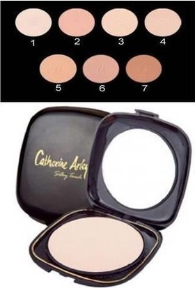 Catherine Arley Silky Tonch Compact Powder No:4 Pudra