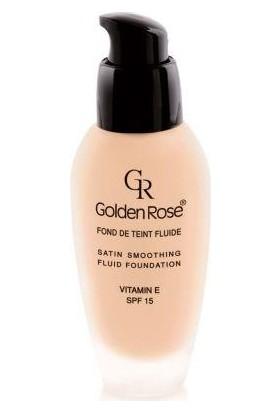 Golden Rose Satin Smoothing Fluid Foundation - Fondöten - 29