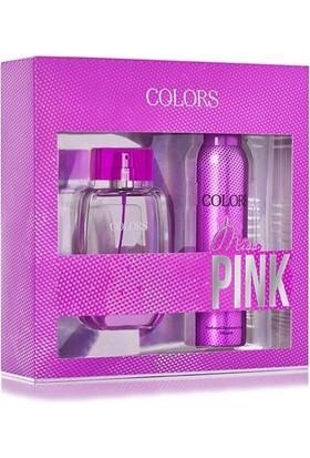 Rebul Colors Miss Pink Edt 75 Ml Kadın + Deo