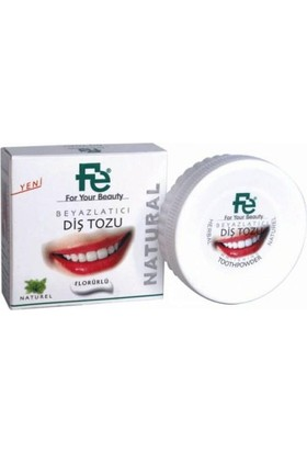 Fe Diş Tozu Natural / Herbal