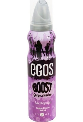 Egos Saç Köpüğü Hacim 125 ml