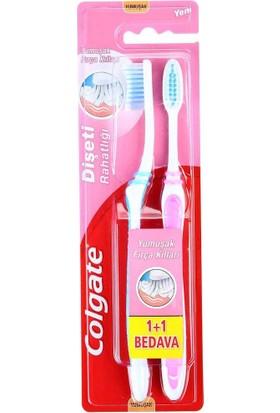 Colgate Diş Fırçası Diş Eti Rahatlığı 1+1