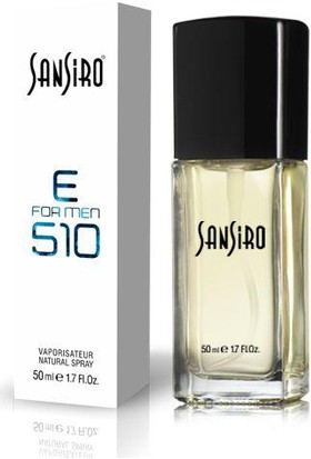 Sansiro E 510 50 ML Baharatlı
