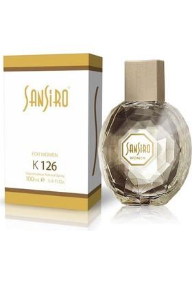 Sansiro 100 ML Parfüm Bayan No.K126 Baharatlı