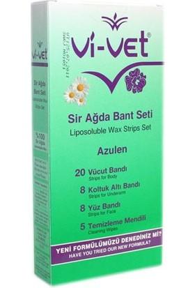 Vi-Vet Sir Ağda Bandı Azulen Vücut İçin Özel