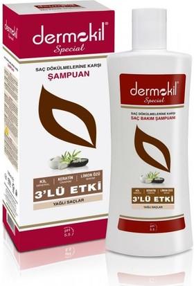 Dermokil Şampuanı Special Kil Keratin Bakım 500ml (Yağlı Saçlar)