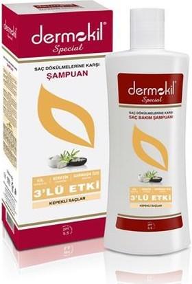 Dermokil Şampuanı Special Kil Keratin Bakım 500ml (Kepekli Saçlar)