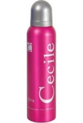 Cecile Diva 150 Ml Kadın Deodorant