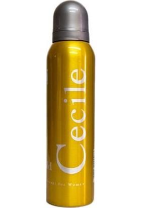 Cecile Gold 150 Ml Kadın Deodorant