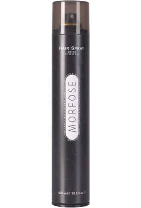 Morfose Hair Spray 750ML Ultra Sert Sıyah/Fınıshıng
