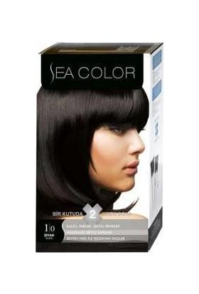 Sea Color 1/0 - Siyah Saç Boyası