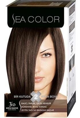 Sea Color 3/0 - Koyu Kahve Saç Boyası