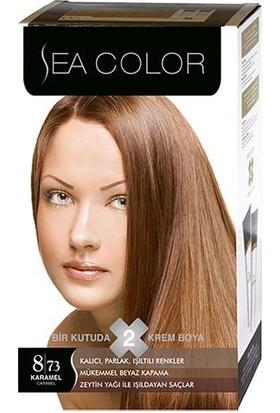 Sea Color 8/73 - Karamel Saç Boyası