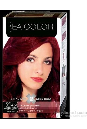 Sea Color 55/46 - Amazon Kızılı Saç Boyası