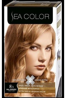 Sea Color 8/3 - Bal Köpüğü Saç Boyası