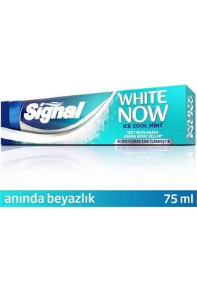 Signal Whıte Now Ice Cool Macun 75 Ml