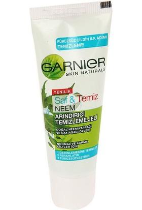 Garnier Saf & Temiz Neem Arındırıcı Temizleme Jeli Normal Ve Karma Ciltler İçin 15 Ml