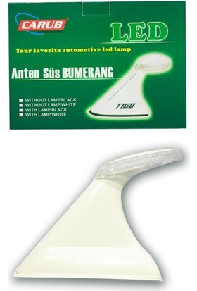 Tvet Bumerang Anten Süs Beyaz Işıksız