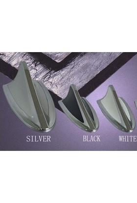 Tvet Anten Süs Balık Çift Renk Chrome Silver