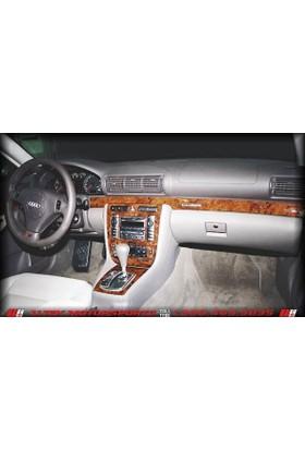 Tvet Audi A4 1994 2002 7 Parça Torpido Kaplaması Maun