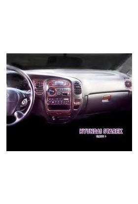Tvet Hyundai Starex 2000 16 Parça Torpido Kaplaması Maun
