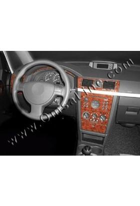 Tvet Opel Meriva 2003 16 Parça Torpido Kaplaması Maun