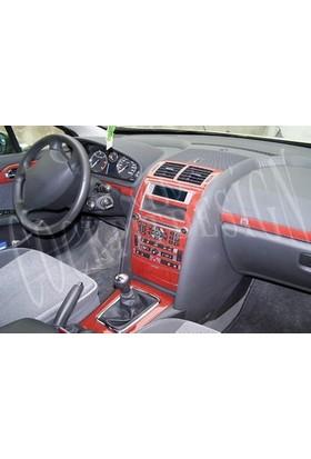 Tvet Peugeot 407 2006 11 Parça Torpido Kaplaması Karbon