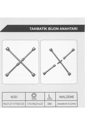Tvet Takmatik Bijon Anahtarı 4'lü 17X19X21X23 Türk Malı