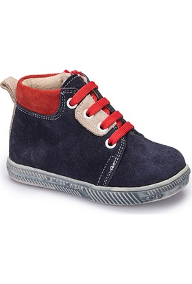 Polaris 62.508425.B Lacivert Erkek Çocuk Deri Sneaker