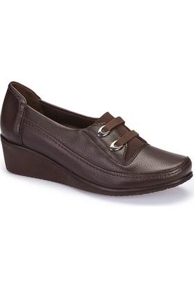 Polaris 5 Nokta 62.107552.Z Kahverengi Kadın Ayakkabı