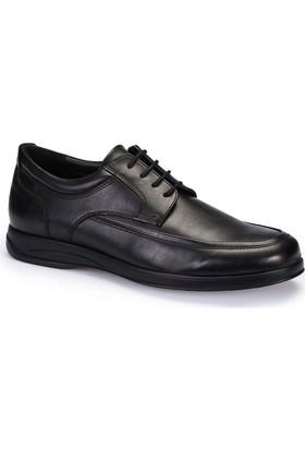 Polaris 62.109416.M Siyah Erkek Klasik Ayakkabı