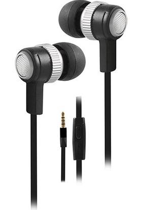 Snopy Sn-501 Mobil Telefon Uyumlu Kulak İçi Gümüş Mikrofonlu Kulaklık