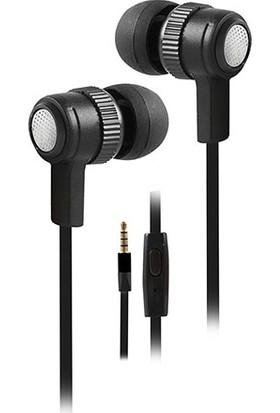 Snopy Sn-501 Mobil Telefon Uyumlu Kulak İçi Siyah Mikrofonlu Kulaklık