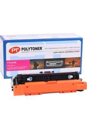 Polytoner Hp Ce253A Toner Kırmızı Cp3525-Cm3530 Canon Crg-723 Lbp-7700