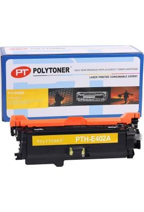 Polytoner Hp Ce402A Toner Sarı Pro 500/M551N/M551Dn/M551Xh (Nr507)