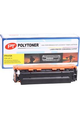 Polytoner Hp Ce412A Toner Sarı Pro300-400 Color Mfp375Nw/400M/451Dn/475Dn