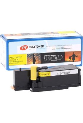 Polytoner Xerox 6000 Toner Sarı 6010-6015 (106R01629)