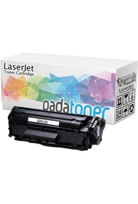 HP Q2612A (12A) Siyah Muadil Lazer Toner