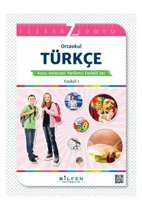 7.Sınıf Türkçe Konu Anlatımlı Yardımcı Fasikül Set Bilfen Yayınları