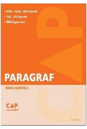Çap Yayınları Paragraf Kpss-Ales-Dgs Hazırlık YGS-LYS Hazırlık